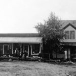 Ellison Bay's First and Only Meat Market, 1908